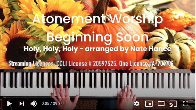 Worship at Home, November 15