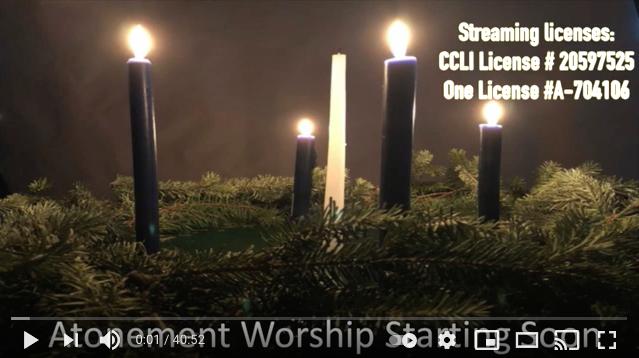 Online Worship, Dec 20