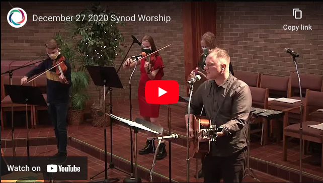December 27 Worship, from the Minneapolis Synod