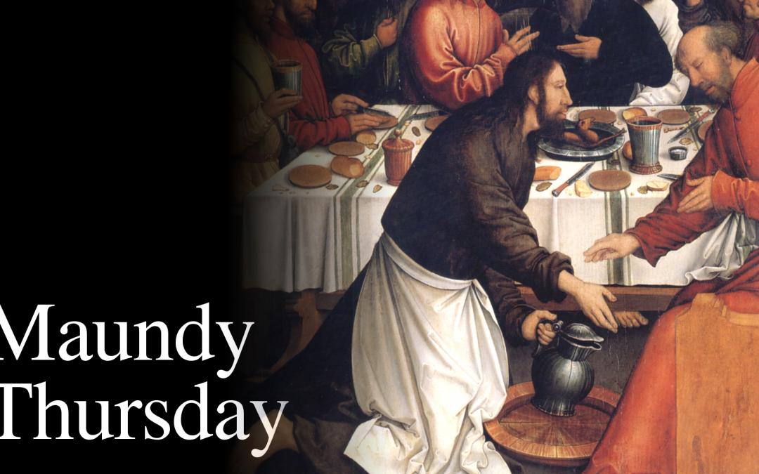 Maundy Thursday: April 1