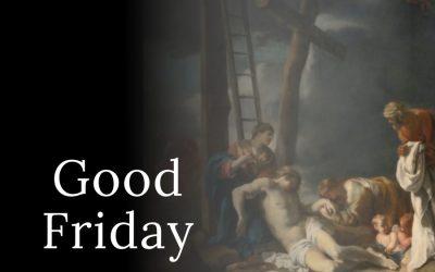 Good Friday: April 2